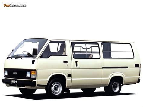 Toyota Hiace Wallpaper by Toyota Hiace Combi Jp Spec 1982 89 Wallpapers 640x480