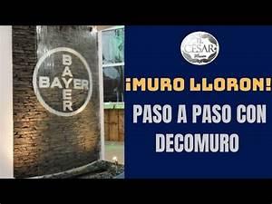 Muro Lloron Con El Panel Marca Decomuro De El Cesar