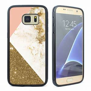 Cute Marble Geometry Pattern Soft Case for Samsung Galaxy ...