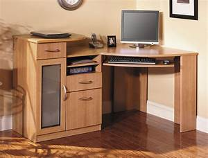 Corner desks for small spaces ideas interior exterior for Corner home theater furniture