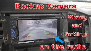 How To Wire A Backup Camera To Your Radio  Indash Screen