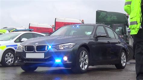 Unmarked Bmw 330d Blue Light