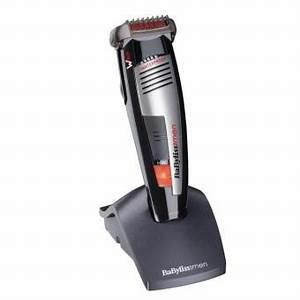 Tondeuse à barbe Babyliss E841PE Lames WTech Waterproof