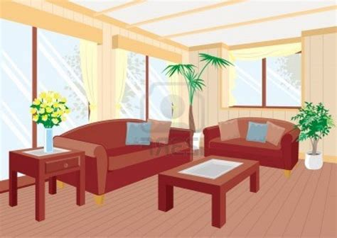 Living Room Clipart Room Clipart Empty House Pencil And In Color Room
