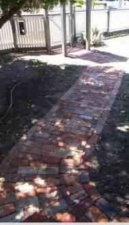 Rustic Garden Path Brick
