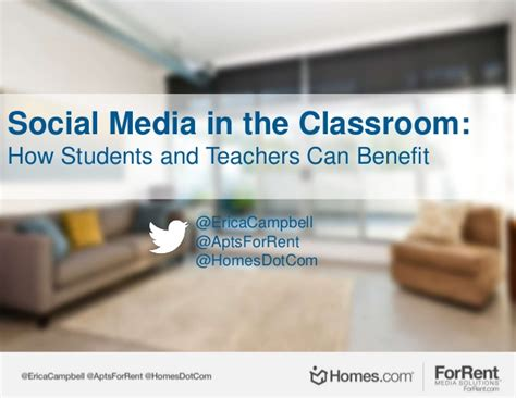 Social Media In The Classroom How Students And Teachers Can Benefit