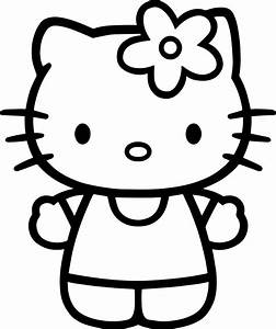 Coloring Pages Of Hello Kitty Face | Fun Coloring Pages