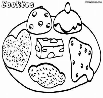 Cookies Coloring Colorings