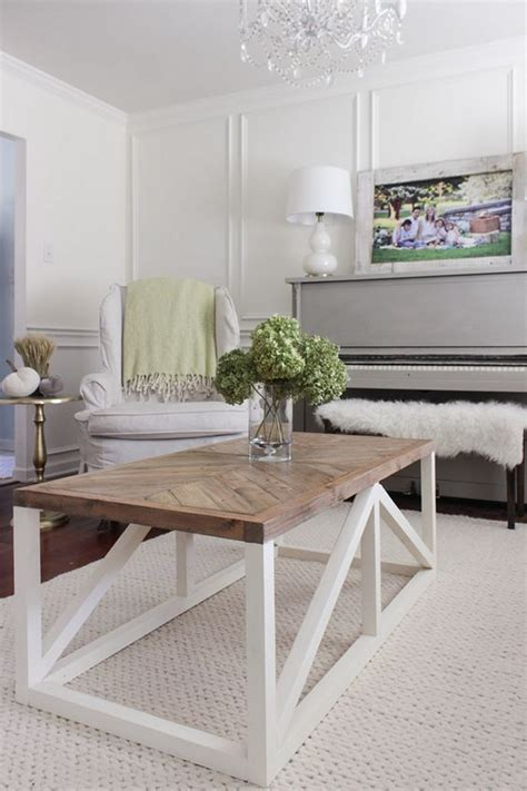 Check out our modern coffee table selection for the very best in unique or custom, handmade pieces from our coffee & end tables shops. 22 Modern Farmhouse Coffee Table Design - decortheraphy