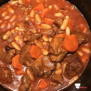 comment cuisiner des flageolets navarin d agneau aux haricots blancs recette cookeo mimi