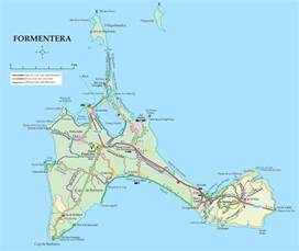 on map formentera road map