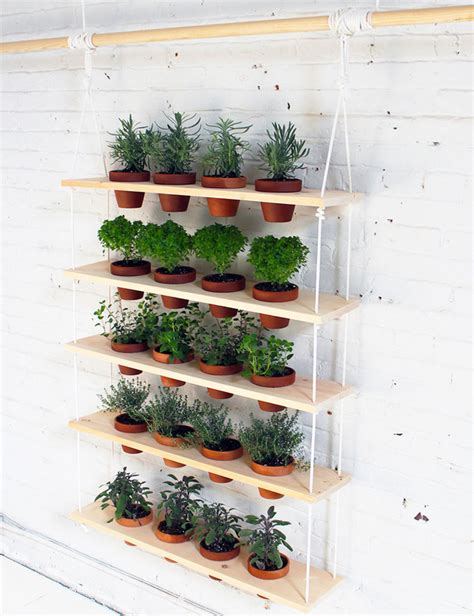 Indoor Vertical Herb Garden by 7 Diy Herb Gardens Sure To Spice Up Your