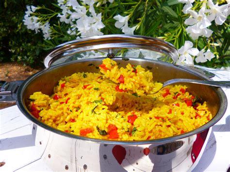 cuisiner avec un grand chef riz aux poivrons et basilic la recette facile par toqués