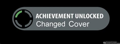 Xbox Achievment Changed Cover Facebook Cover