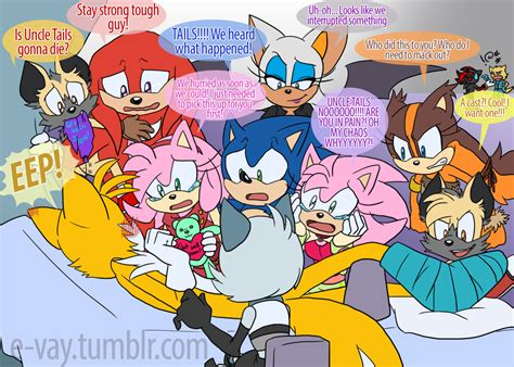 She knows Sonic is not interested in romance and she hates ...