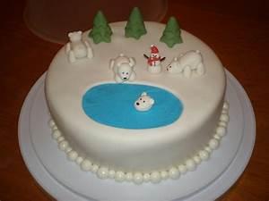 Polar Bear Cake - CakeCentral com