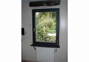 Rénovation de fenêtre bleu canon RAL 5008 et porte fenêtre par Beau Window Val d'oise