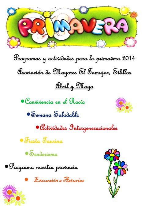"""Asociación De Mayores """"el Tamujar"""", Silillos Abril 2014"""