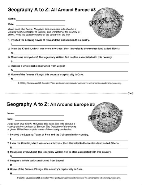 russia geography worksheets worksheets for all