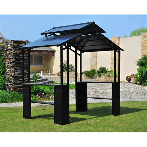 sunjoy gazebo advice sunjoy lincoln grill gazebo with led light best price cooking is favourite hobby