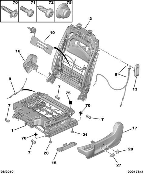 siege auto qui bouge réparation siège électrique qui bouge gt jeu dans l 39 assise