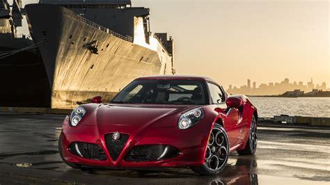Wallpaper Alfa Romeo 4c, Sports Car, Type 960, Alfa Romeo