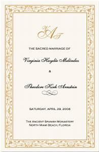 Wedding Program Samples Templates Celtic Border Wedding Programs Wedding Program Wording
