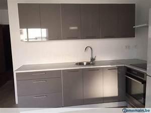 Meuble Angle Cuisine : meubles cuisine angle laquee a vendre ~ Teatrodelosmanantiales.com Idées de Décoration