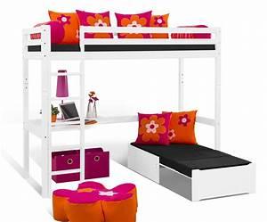 Bett Mit Ausziehbarer Liegefläche : hochbett mit schreibtisch und couch kids heaven mit loungeecke ~ Bigdaddyawards.com Haus und Dekorationen