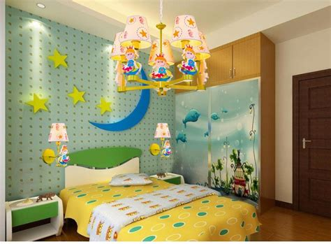 Cartoon Kids Light Led Beside Toys Kids Pendant Light Lamp
