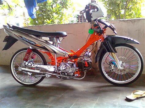 Modif Jupiter Z by Modifikasi Motor Yamaha 2016 Modif Yamaha Jupiter Z Burhan