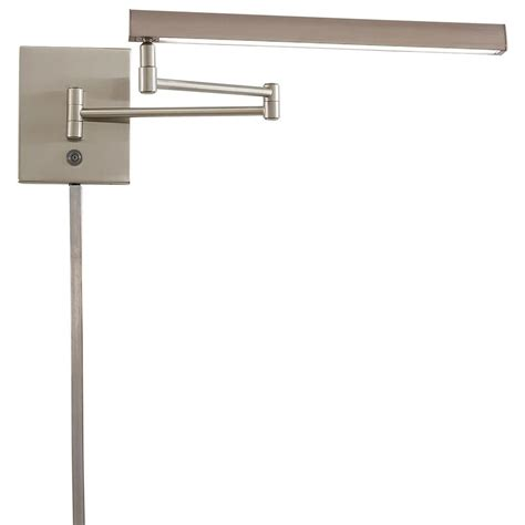 swing arm l hardware george kovacs madake 13 watt brushed nickel integrated led