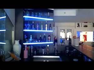 Bar De Maison : decoration bar mur de bulles meubles interior design youtube ~ Teatrodelosmanantiales.com Idées de Décoration