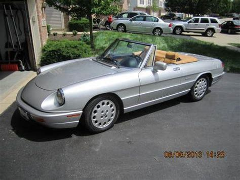 Find Used 1991 Alfa Romeo Spider Veloce 2.0 Automatic In