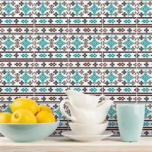 Stickers Carrelage Cuisine 15x15 : 9 stickers carrelages ethnique mogadiscio cuisine ~ Dailycaller-alerts.com Idées de Décoration