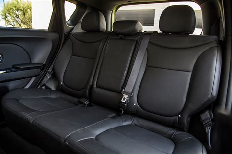 2014 Kia Soul Rear Interior Seats Photo 6