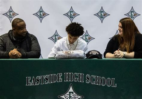 signing day aj royals year eastside paid signs st