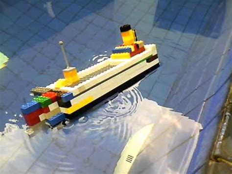 Lego Ship Sinking In Whirlpool by Lego Cruise Ship Sinking Capsizing