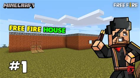 total gaming builds garena  fires  shaped house  minecraft
