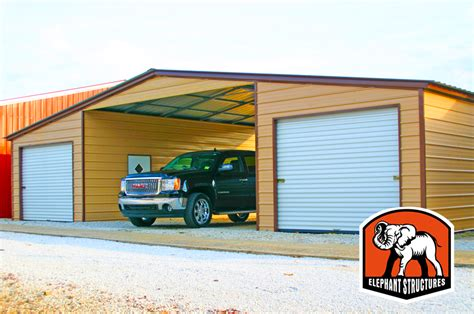 Used Car Ports by Metal Garage Kits You Can Assemble Yourself
