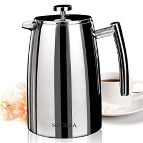 5% coupon applied at checkout save 5% with coupon. Stainless Steel French Press Coffee Maker | A Listly List