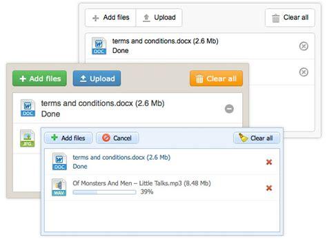 dhtmlxvault 2 0 multiple file uploader with drag and drop