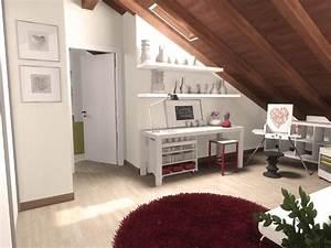 La mansarda da dividere in camera e studio Cose di Casa