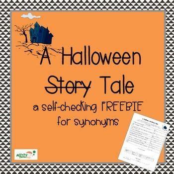 halloween synonyms worksheet  images halloween