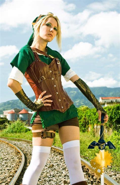 Link From Zelda Cosplay Steampunk Cosplay Halloween