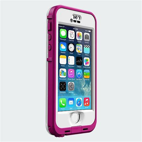 lifeproof nuud for iphone 5s lifeproof nuud for iphone 5 5s blaze pink clear