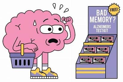 Memory Term Short Clipart Test Brain Cartoon