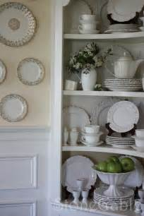 China Cabinet Display Dishes