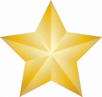 Star Clip Christmas Gold Shining Illustration 2639