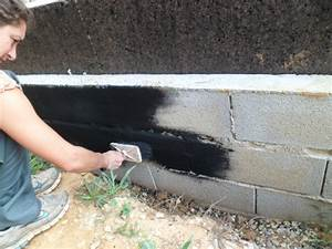peindre mur parpaing exterieur 4 enduire un 2 ext233rieur With peindre un mur en parpaing